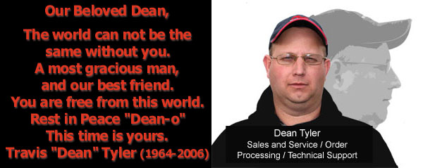 We'll Miss You Dean