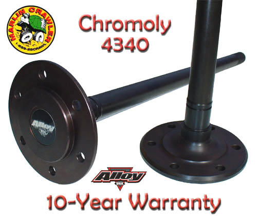 New Product: Tacoma Chromoly Rear Axle Shafts!