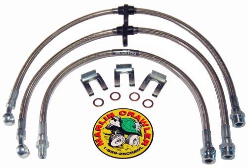 New Product - Extended Tacoma Brake Line Kit!
