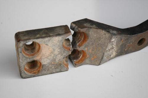 Broken Cast Steering Arms
