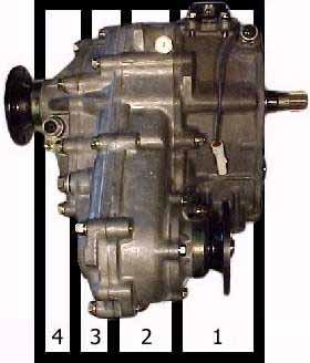 Gear Drive Transfer Case Parts