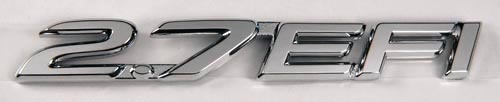 New Product - 2.7 EFI Emblem -- 3RZ-FE Owners!