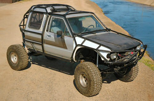 Who makes in cab roll cages pirate4x4 com 4x4 and off - Interior roll cage for toyota pickup ...