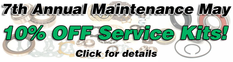 Marlin Crawler's 7th annual Maintenance May!