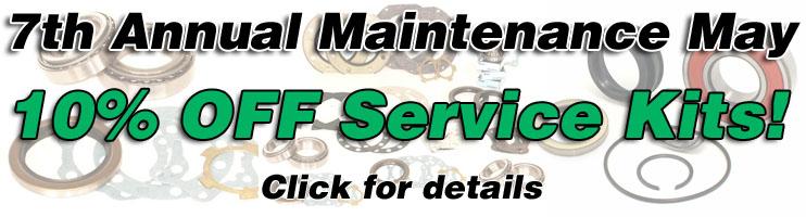 Marlin Crawler's 7th annual Maintenance May!