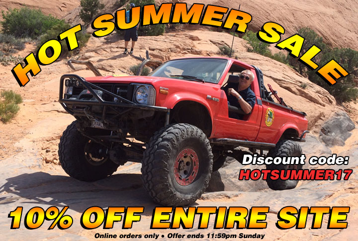 48-hr Hot Summer Weekend Sale: 10% Off Entire Site