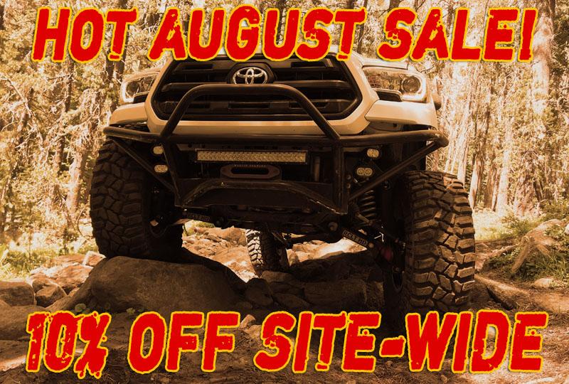 Hot August Sale at MarlinCrawler.com has begun!