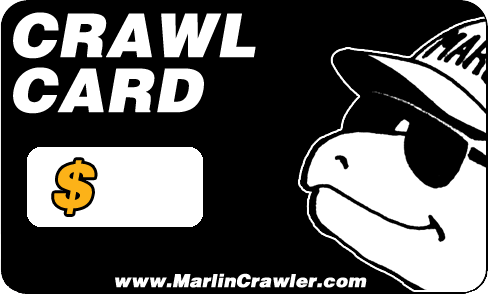 New CRAWL CARD Gift Cards!!