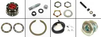 Front Axle Hardware Parts