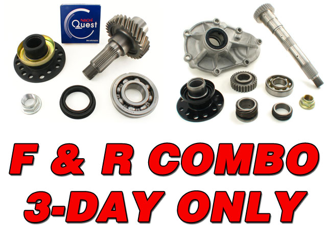 Limited 3-Day Combo Deal on Chromoly Output Kits