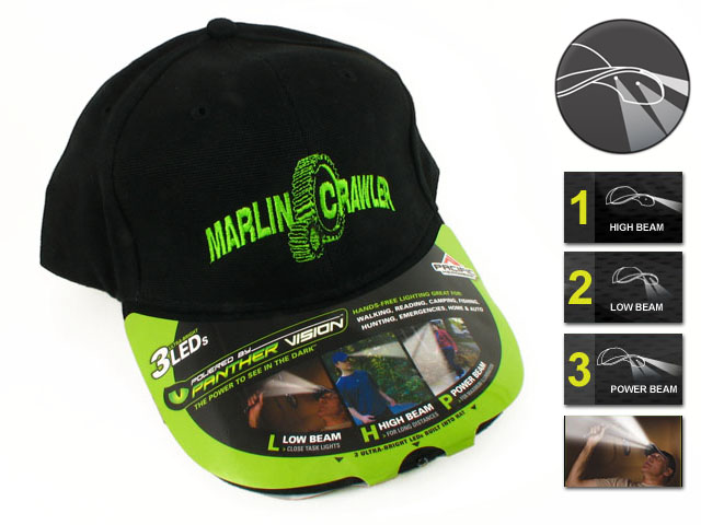 Limited offer: LED Light Hats! (EXPIRED)