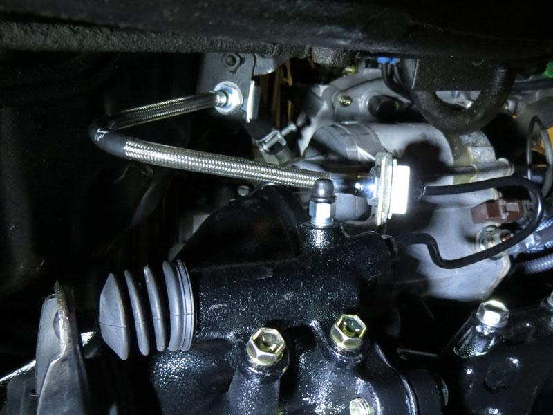 Steel Braided Hydraulic Lines : Steel braided clutch line kit marlin crawler inc