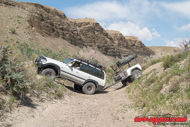 We tested the Marlin gears over the past year, including a few trips where we towed a Dinoot off-road trailer. Overall, we have been very impressed with the performance of the lower gear set from Marlin Crawler.
