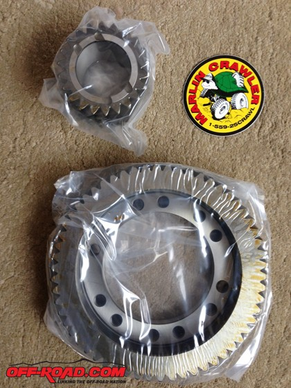 We were excited to try out the new Low Range Gears from Marlin Crawler for the 80 Series Land Cruiser.