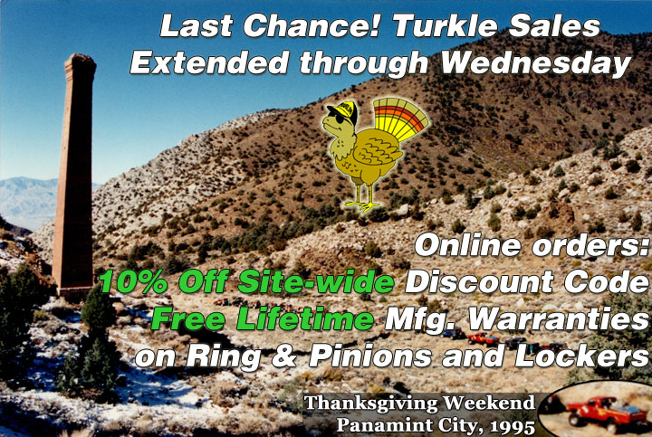 Turkle Sales extended through the end of the month!
