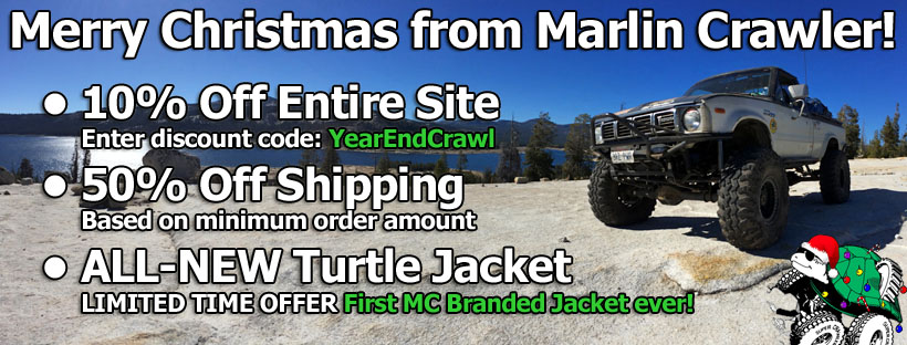 Merry Christmas from Marlin Crawler! 10% off, 50% off, and a new MC Jacket