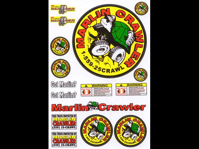 New Product: R/C Rock Crawler Sticker Sheet