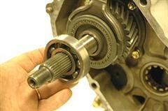 4 70:1 Gear Install | Marlin Crawler, Inc