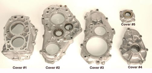 RF1A Gear Drive T/Case Covers