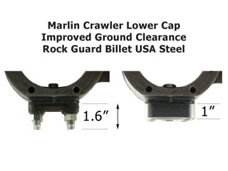 Marlin Crawler Rock Guard Lower Knuckle Cap Ground Clearance