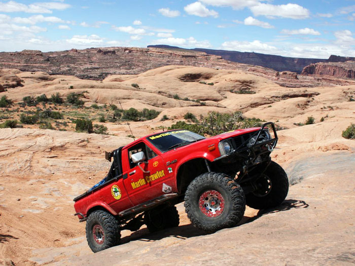 The Crawler Truck in Moab, Utah