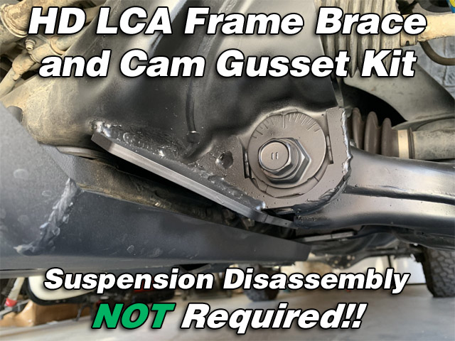 HD LCA Frame Brace and Cam Gusset Kit