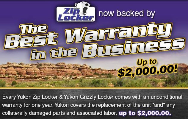 Zip Locker Warranty