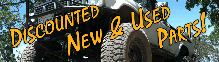 Click to view our current Discounted Parts!