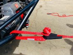 Properly Hooked up Soft Shackle with Noose Over the knot