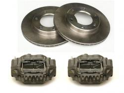 Brake Rotor and Caliper Combo
