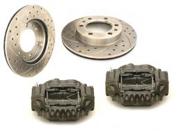 Performance Brake Rotor and Caliper Combo