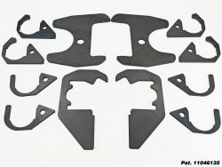 Heavy Duty IFS Lower Control Arm Cam Tab Frame Brace Kit