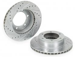 High Performance 1st Gen Tacoma Brake Rotors, Right & Left