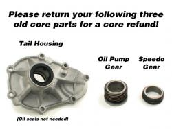 Please send us your old unused Core Parts for a Core Charge refund!