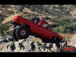 Crawler Truck Scale R/C Car, Descent