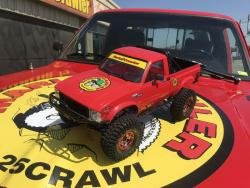 Crawler Truck Scale R/C Car, on Crawler Truck Hood