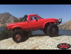 Crawler Truck Scale R/C Car, Side