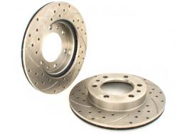 High Performance Vented Brake Rotors
