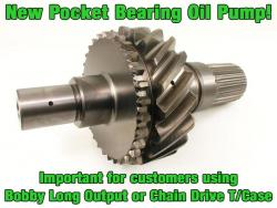 New Pocket Bearing Oil Pump! More info coming soon!